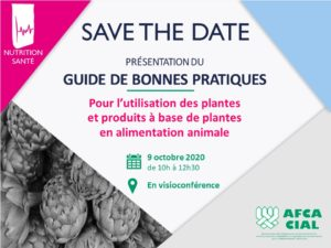 Save the date - Présentation du guide plantes - 09102020